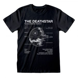 Star Wars T-Shirt Death Star Sketch