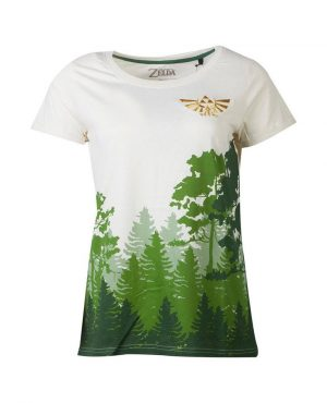 Legend of Zelda Girlie T-Shirt The Woods