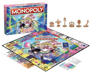 Sailor Moon Brettspiel Monopoly *Englische Version*