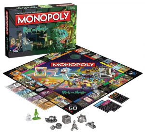 Rick and Morty Brettspiel Monopoly *Französische Version*