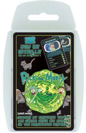 Joc de cartes Rick & Morty Top Trumps * Versió francesa *