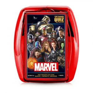 Test de jocs de cartes Marvel Top Trumps Quiz * Versió alemanya *