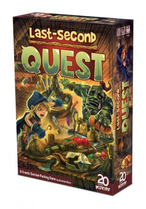 Last-Second Quest Brettspiel *Englische Version*