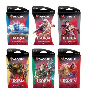 Magic the Gathering Ikoria: Lair of Behemoths Thematic Booster Display (12) en anglès